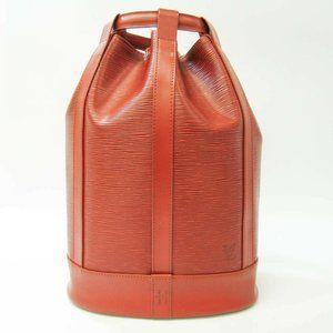 Authentic Louis Vuitton Epi Randne PM M52353 Women